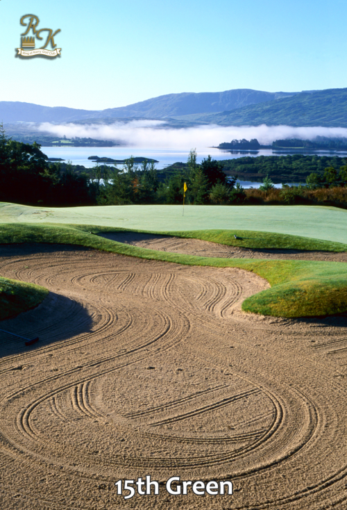 png of 15th green ring of Kerry