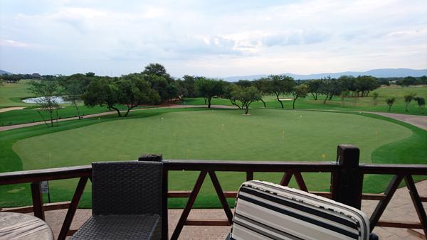 Image of putting green at Zebula Golf and Safari